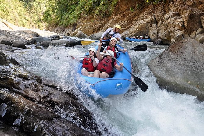 White Water Rafting Savegre River From Jaco