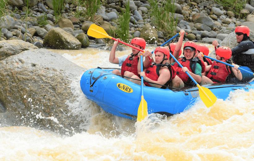 White Water Rafting Naranjo River from Jaco